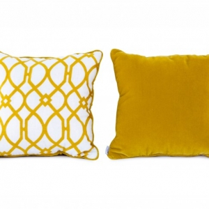 BRISE YELLOW | Cushions (price per 2 units)