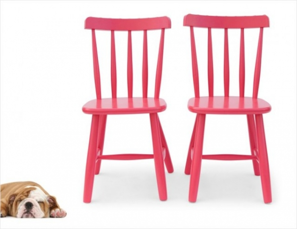 TWIST rose | chair (price per 2 units)