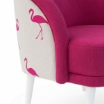 TOULOUSE rose | armchair