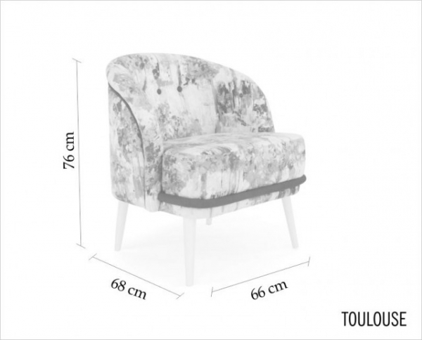 TOULOUSE | armchair
